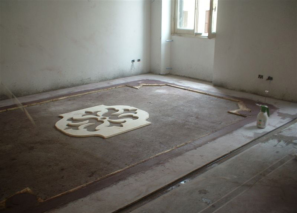 Workinprogress pavimento Terrazzo