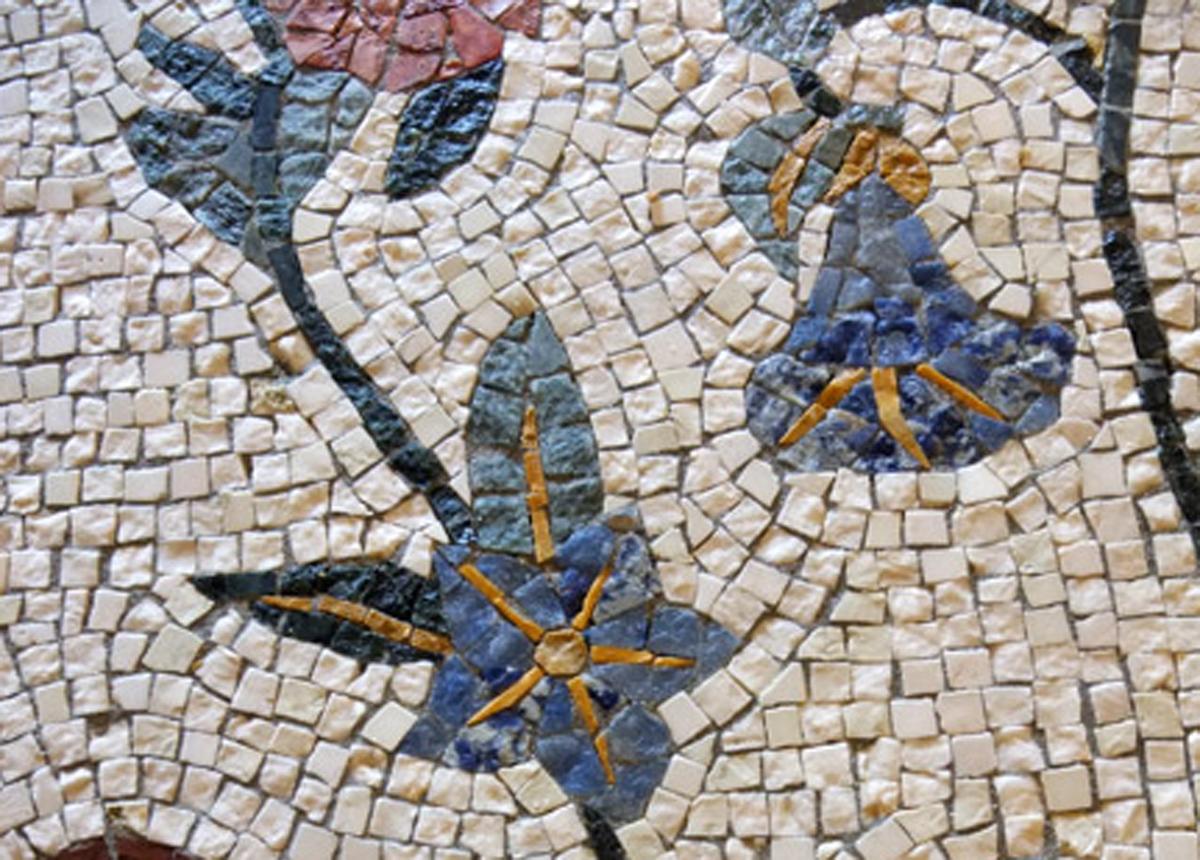 laboratorio di mosaico artigianale, orvieto e roma