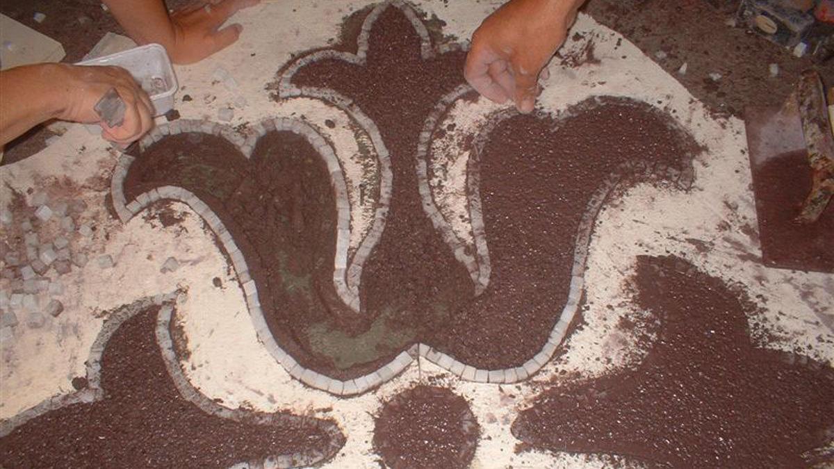 lavorazione-terrazzo-e-mosaico | redmosaic